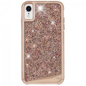 NIB CASE-MATE BRILLIANCE iPHONE XR CASE ROSE GOLD